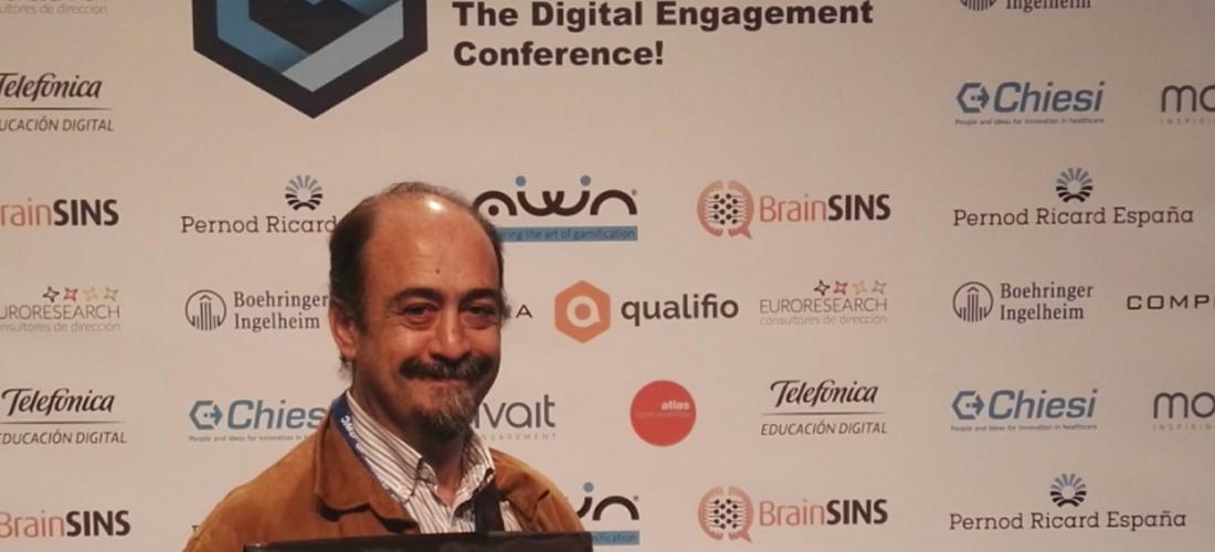 Juan Valera Mariscal, experto en gamificación en la empresa y en psicología social